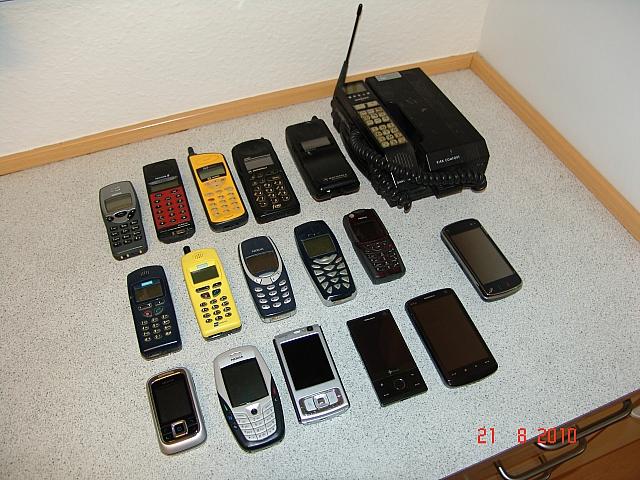 gamle mobiltelefoner købes